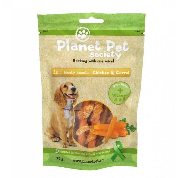 planet pet snack para cão