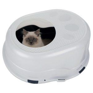 wc para gato com entrada superior