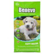 Benevo Puppy Original é um alimento Vegan para cães jovens, sem AGM (Alimentos Geneticamente Modificados). Adição de Cálcio e Vitaminas.