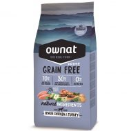 RAÇÃO OWNAT GRAIN FREE PRIME SENIOR CHICKEN