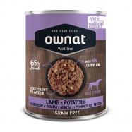OWNAT WETLINE para cão é uma nova proposta de alimentos húmidos elaborados com ingredientes 100% naturais, vegetais e plantas medicinais.