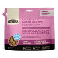Acana Treat Grass-Fed Lamb é uma deliciosa recompensa que se sentirá bem a dar ao seu cão. Feita com borrego alimentado em pastagens e maçã.